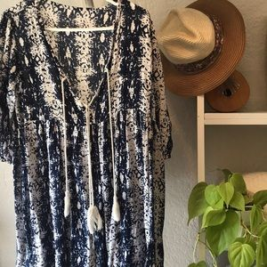 Tops - Tassel tie front tunic from Bali boutique